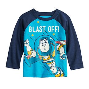 Baby Boy Disney's Toy Story Buzz Lightyear Long-Sleeve Raglan Tee by Jumping Beans®