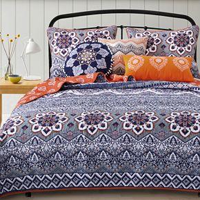 Greendale Home Fashions Medina Saffron Bedding Set