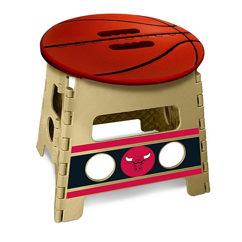 Enjoyable Chicago Bulls Folding Step Stool Pdpeps Interior Chair Design Pdpepsorg