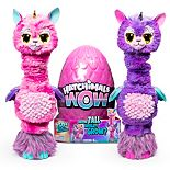 Hatchimals WOW 32-Inch Llalacorn Animal Toy