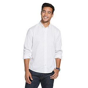 Men's IZOD Sportswear Saltwater Slim-Fit Button-Down Shirt