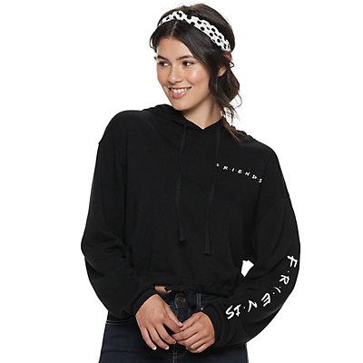 Juniors' Friends Logo Graphic Hoodie Sweatshirt