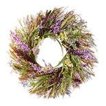 National Tree Company Artificial Mixed Leaf Spring Wreath