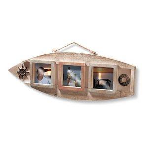National Tree Company Nautical 3-opening Wall Frame