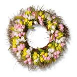 National Tree Company Artificial Tulip Wreath