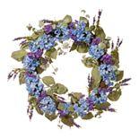 National Tree Company Artificial Blue Hydrangea Wreath