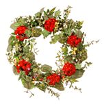 National Tree Company Artificial Mixed Ivy & Flower Spring Wreath