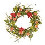 National Tree Company Artificial Wildflower Wreath