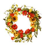 National Tree Company Artificial Sunflower Floral Wreath