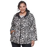 Plus Size d.e.t.a.i.l.s Reversible Anorak Jacket