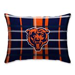 Pegasus Chicago Bears Plaid Standard Pillow