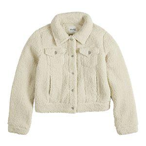 Girls' 7-16 Mudd Sherpa Trucker Jacket