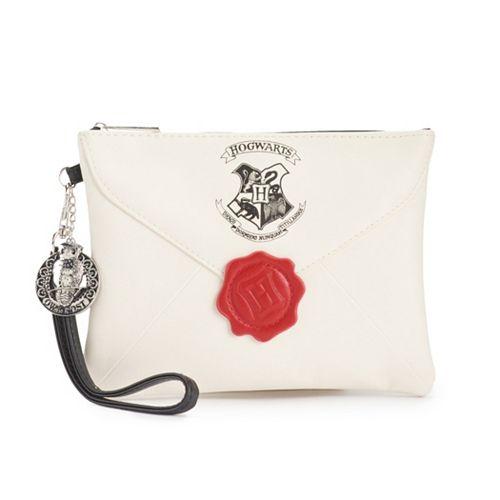 Harry Potter Hogwarts Letter Wristlet Wallet Card Holder Bi Fold Handbag