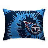 Pegasus Tennessee Titans Tie-Dye Bed Pillow