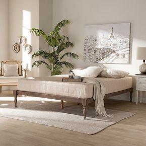 Baxton Studio Iseline Bed