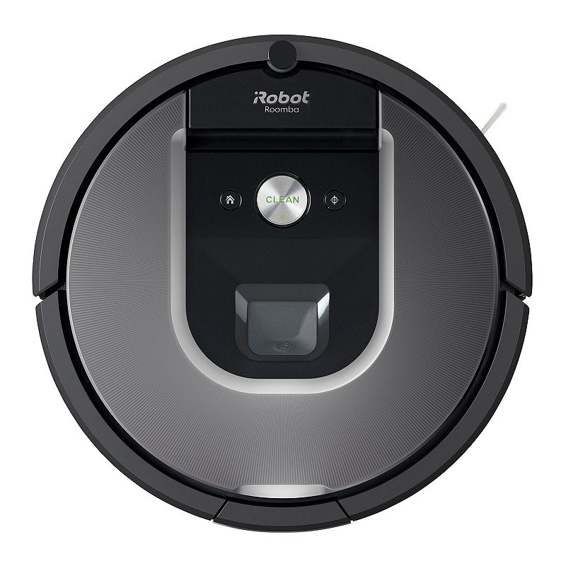 iRobot Roomba 960 Wi-Fi Connected Robot Vacuum Bundle, Grey