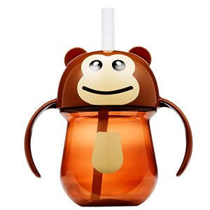 The First Years Monkey Straw Trainer Cup