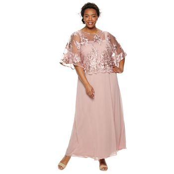 Le Bos Chiffon Embroidered Dress