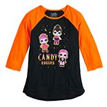"Girls 7-16 LOL Surprise ""Candy Queens"" Halloween Graphic Tee"