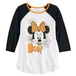 "Disney's Minnie Mouse Girls 7-16 ""Boo"" Halloween Graphic Tee"