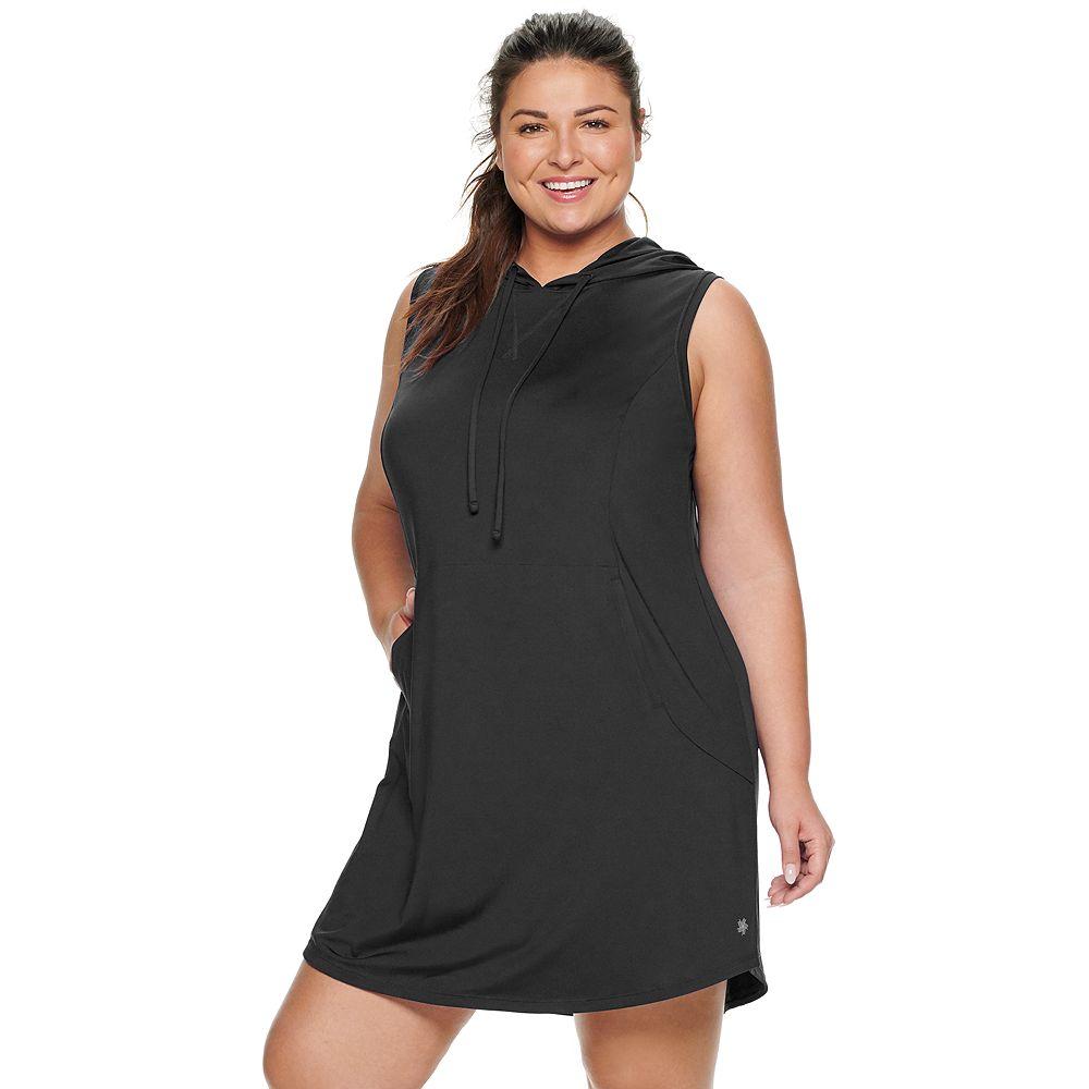 Plus Size Tek Gear® Hooded Dress