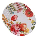Certified International Country Fresh 4-pc. Dinner Plate Set