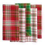 St. Nicholas Square® Plaid Kitchen Towel 5-pk.