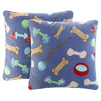 2-Pack The Big One Printed Plush Throw Pillow Set (various styles)