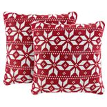 The Big One® Printed Plush 2-pk Pillow