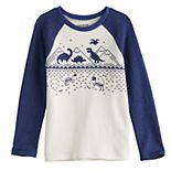 Boys 4-12 Jumping Beans® Fairisle Dinosaur Graphic Tee