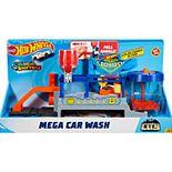 Mattel Hot Wheels Mega Car Wash Play Set
