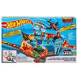 Mattel Hot Wheels Jet Jump Airport Play Set