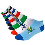 Men's Nick Graham 10-pack Pop Art Liner Socks