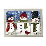 St. Nicholas Square® Faux-Applique Snowman Placemat