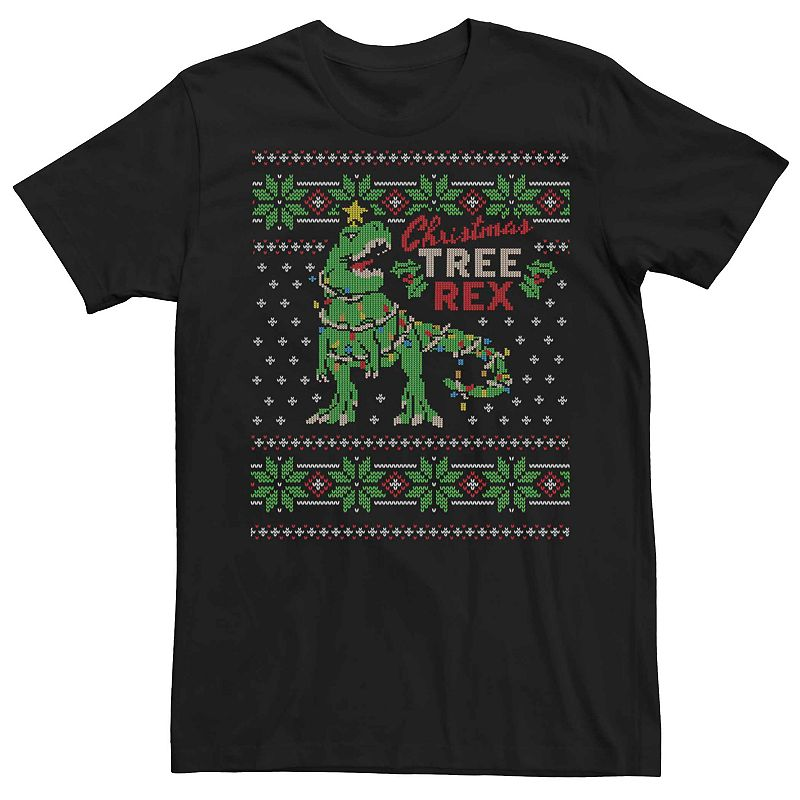 It may not have been able to open presents easily, but it sure makes for an...interesting Christmas tree. Express your unique festive style with this humorous graphic tee. It may not have been able to open presents easily, but it sure makes for an...interesting Christmas tree. Express your unique festive style with this humorous graphic tee. FABRIC & CARE Cotton Machine wash Imported Color: Black. Gender: male. Age Group: adult.