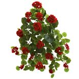 nearly natural 26 In. Geranium Artificial Plant (Set of 2)