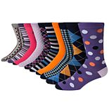 Men's Nick Graham 10-Pack Modern Crew Dress Socks