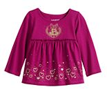 Disney's Minnie Mouse Baby Girl Babydoll Top by Jumping Beans®