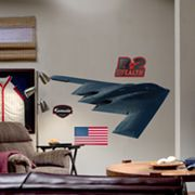 Fathead B-2 Stealth Bomber Wall Decal