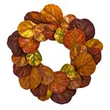 nearly natural Fiddle Leaf Artificial Wreath