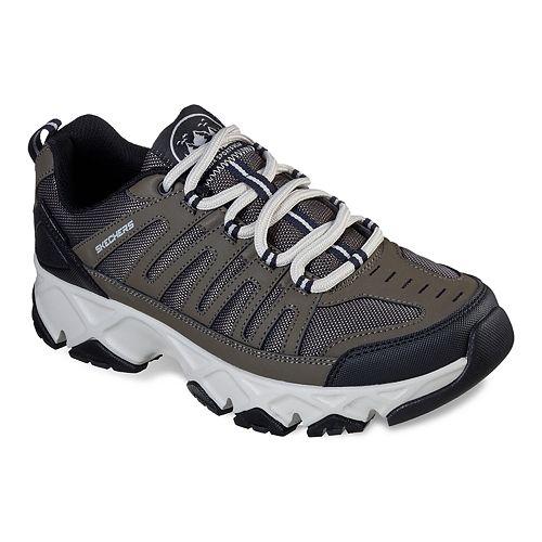 Skechers Relaxed Fit Crossbar Men's Water-Resistant Trail Walking Shoes