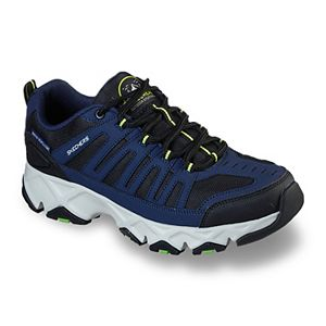 Skechers Relaxed Fit Crossbar Men's Water-Resistant Trail Walking Shoes