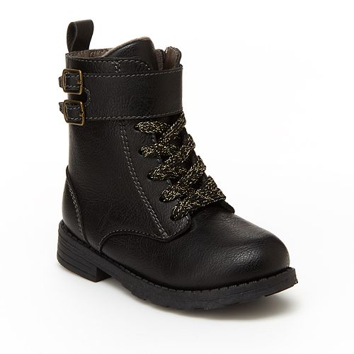 Carter's Blaire Toddler Girls' Combat Boots