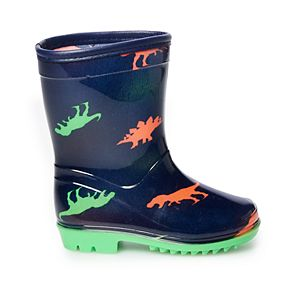 Carter's Diesel Toddler Boys' Water Resistant Rainboots