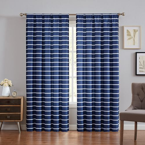 Truly Soft Maddow Stripe Window Curtain
