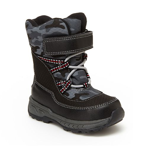 Carter's Uphill Toddler Boys' Water Resistant Snow Boots
