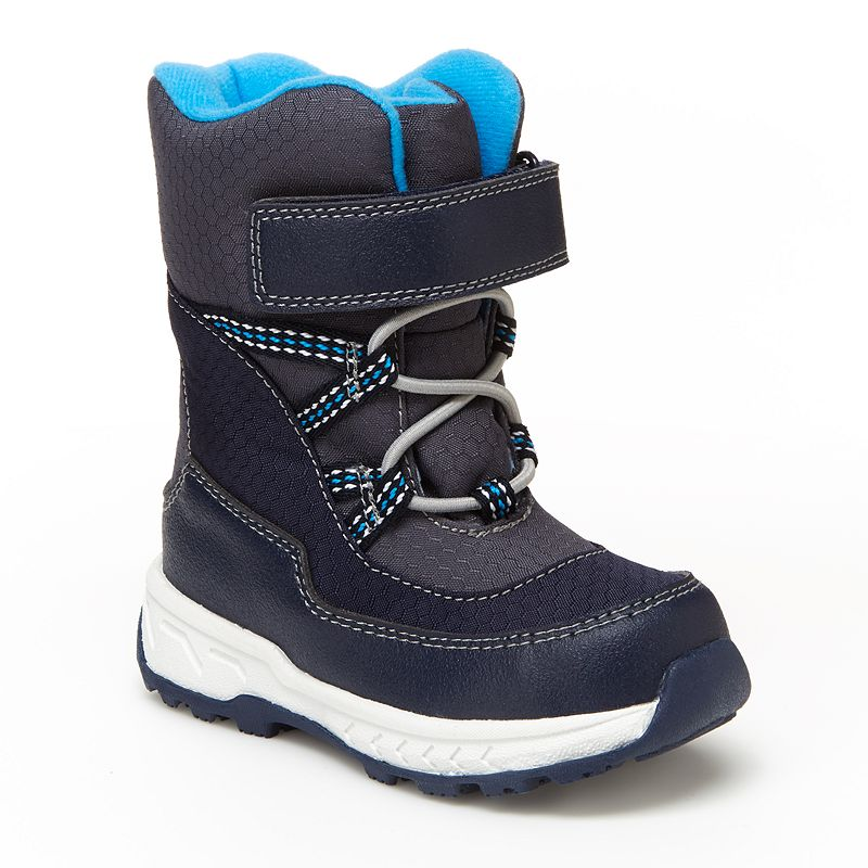 Carter's Uphill Toddler Boys' Water Resistant Snow Boots, Infant Boy's, Size: 9 T, Blue