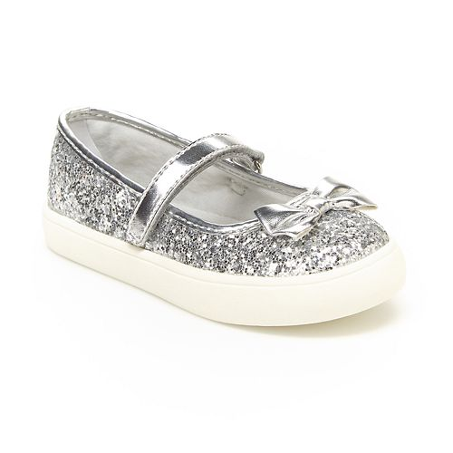 Carters Glitter Toddler Girls' Mary Jane Shoes
