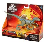 Mattel Jurassic World Savage Strike Blue Velociraptor