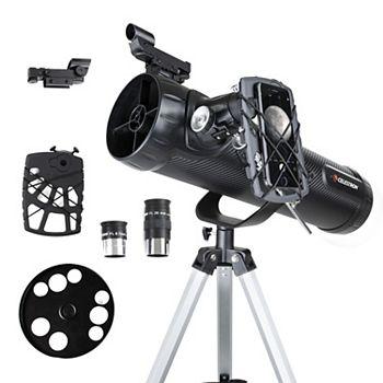 Celestron 114AZ-SR Smartphone Ready Reflector Telescope + $15 Kohls Cash